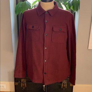 NWT Banana Republic  60% organic cotton shirt